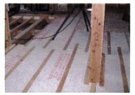 ②床の断熱改修